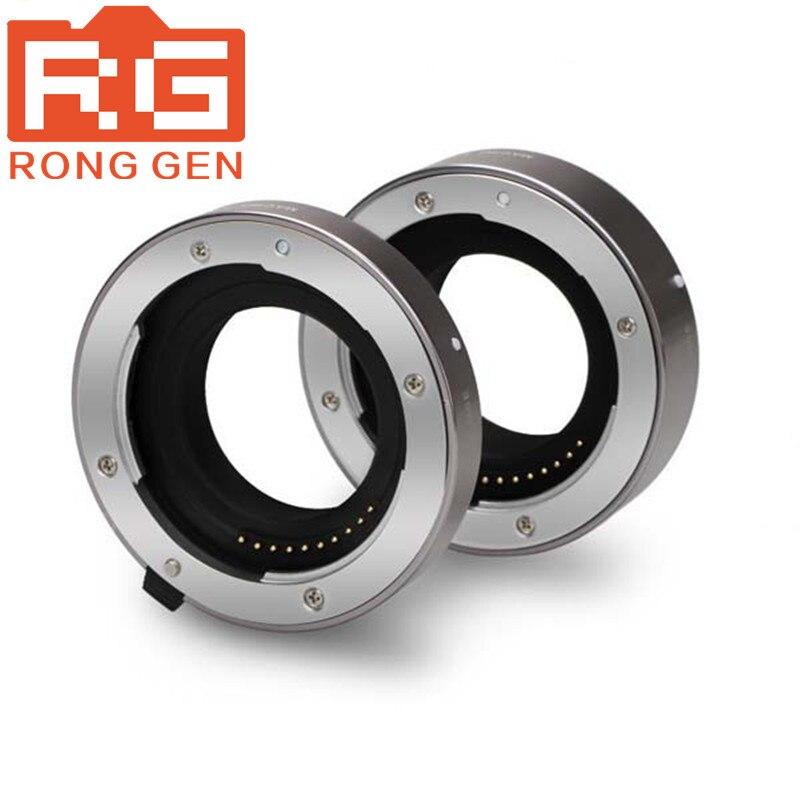 Aputure AC-MS Auto Focus Macro Extension Tube Ring for Sony G Lenses macro extension tube for sony e mount ac ms silver grey