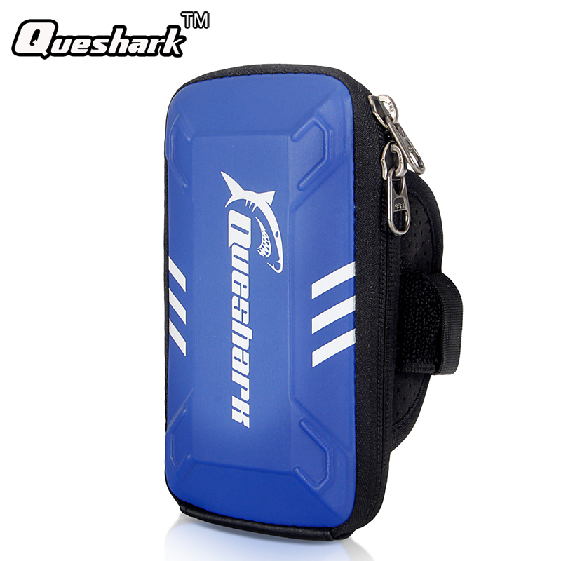 Queshark Waterproof Small Fitness Running Bag Wallet Jogging Phone Holder Purse Armband Gym Arm Bag Sports Accessories