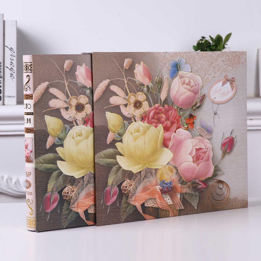 Large Photo Albums 500 Photos Book Scrapbooking Baby Memory Book Album Fotografico Grande Wedding Romantic Gifts For Boyfriend 7