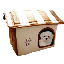 Exploding Kittens CatS House Pet Dog Bed Warming Puppy Removable Kennel Cat Mats Outdoor ATB-177