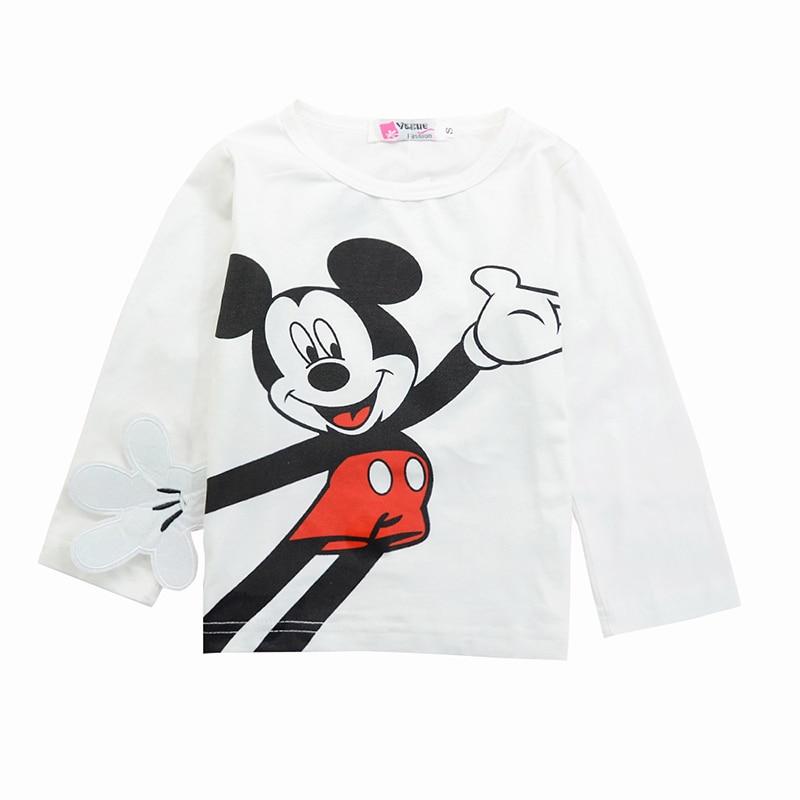 Mickey Baby Boy Clothes Newborn Baby Girl Clothing Set Spring Sports Baby Girl Clothing Set Roupas Bebe Cotton Children Clothing 4