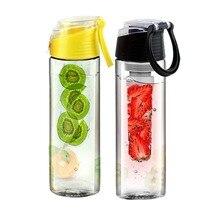 700 ml-800 ml y carne de la fruta infusión infusión de mi mejor botella de agua deportes salud lemon juice hacer caldera de la botella ciclismo camping taza