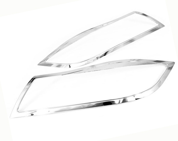 Chrome Styling Head Light Cover for BMW E90