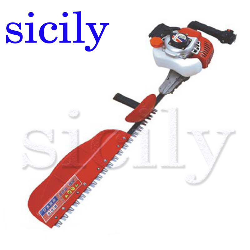 SICILY Single blade Hedge machine, Hedgerow clipper, gasoline tea tree leaf pruning machine, two stroke pruning machine LJ7510D