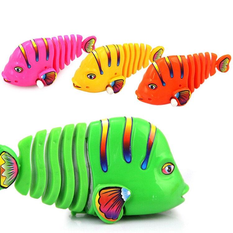New Electric Flash Swim Fish Magical Music With Light Machine Sensation Fish Swim Pet Clown Fish  With Music Lights Toys