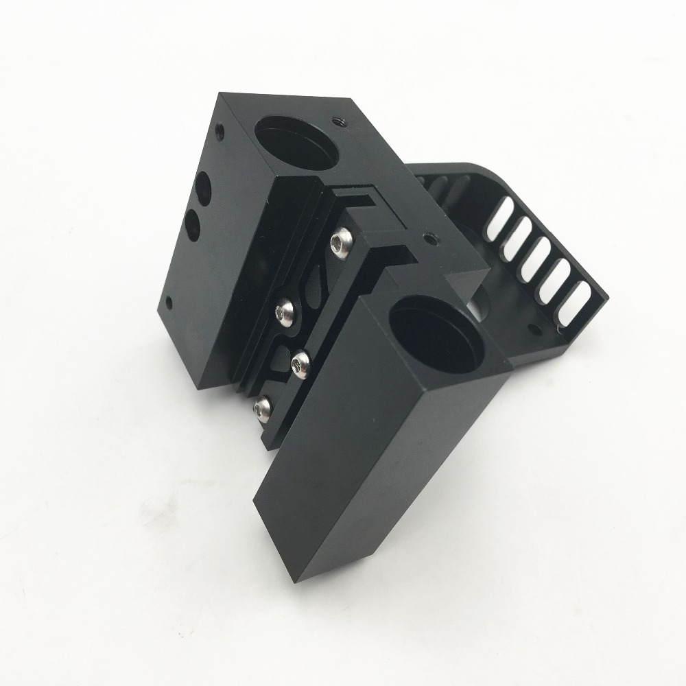 funssor Aluminum alloy Prusa I3 MK2 X axis slider Titan Aero extruder Nema 17 motor mount +X slider|3D Printer Parts & Accessories| |  - title=