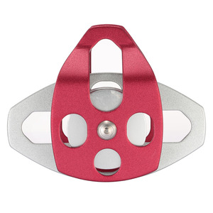 Image 2 - Lixada 30kN גדול אלומיניום תאום לעמר גלגלת חיצוני כלים טיפוס הצלת החיבל חיצוני כלים תאום לעמר גלגלת
