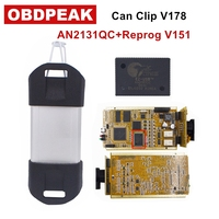 2018 For Renault CYPERSS AN2131QC Full Chip SYPRESS AN2131QC Reprog V151 OBDII Diagnostic Interface For Renault 1998 2017