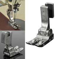 Stainless Steel Industrial Sewing Machine Roller Presser Foot SPK-3 with Bearing All Steel Presser Foot Leather Coated Fabric