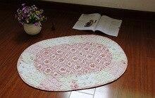 Korean cotton oval-slip mats / door mat / bed pad / mat / bath mat / dustproof