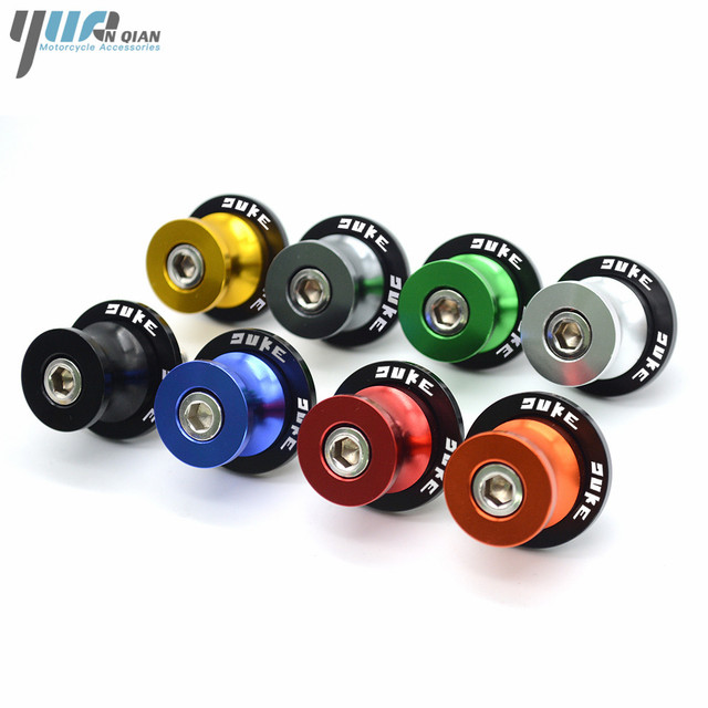 8MM 10MM duke  Motorcycle Swingarm Spools Slider Stand Screws For KTM 990 SuperDuke 690 390 Duke/ RC 390 200 Duke 690 Duke R