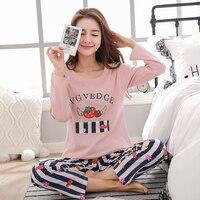 Black White Striped Pyjamas Cotton Couple Pajamas Set Women S Sleepwear Pajama Sets Pijamas Mujer Lover