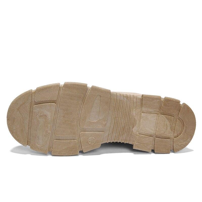 Air Martin En Khaki 44 Sandle Haut Backcamel L'usure Formateurs Résistant À Chaussures Hommes Gros Occasionnels Non Size39 Plein slip black Rétro Bottes tq5RzXzwC