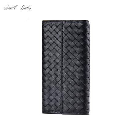 new sheepskin woven wallet genuine leather wallet multifunction zipper Long Wallet bagnew sheepskin woven wallet genuine leather wallet multifunction zipper Long Wallet bag