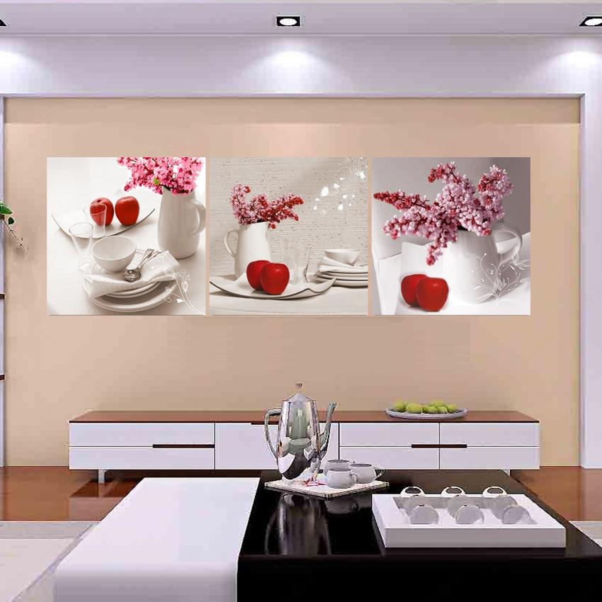 US $7.83 27% di SCONTO Foto Frutta pittura calligrafia opere d\'arte quadri  su tela arte astratta olio Da Cucina modulare bilder modern wall dipinti ...