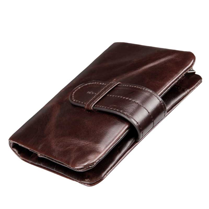 2018 New Arrival Business Men's Wallet Fashion Cow Genuine Leather Short Wallet Brand Famous Real Leather Card Holder Mens Purse new arrival famous sexy women cow leather wallet 2017 short real leather wallets card holders clutch bag genuine leather purse