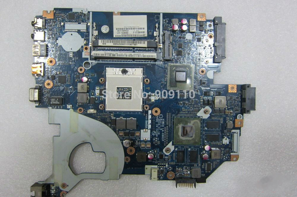 yourui MBRAZ02002 P5WE0 LA-6901P for Acer Aspire 5750 5750G ლეპტოპის დედაპლატი MB.RAZ02.002 DDR3 GT540M მთავარი დაფა სრული ტესტირება