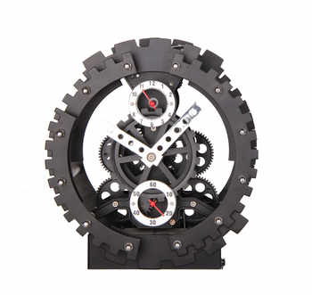 New Arrival Fashion Creative Large Gear Wall Clock Mechanical Gear Mute Wall Quartz Clock Home Decor - DISCOUNT ITEM  49% OFF All Category