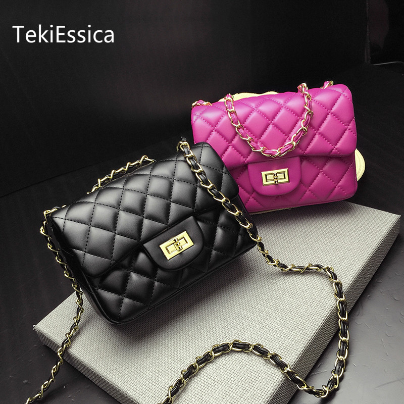 Buy pink gold bag and get free shipping on AliExpress.com 853950cb79d56