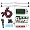 Geeetech rumba board + cooler fan + display lcd 2004 controlador + jumper fio rumba ect da placa de controle kits para reprap 3d printer