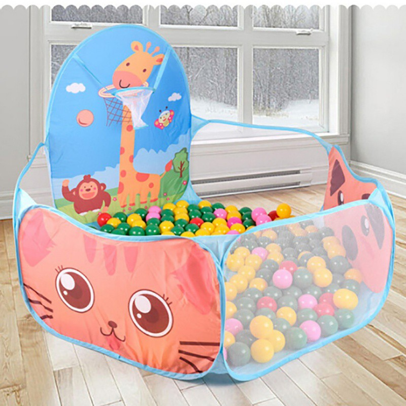 Outdoor Foldable Kids Pools Kids Play Tent Indoor For Children Gift Funny House Play Hut Pool Play Tent New Arrival