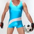 Men Sport GYM Singlet Unitard lencería ropa interior hombre cuerpo traje traje de lucha leotardo junta Beach Surf trajes de baño