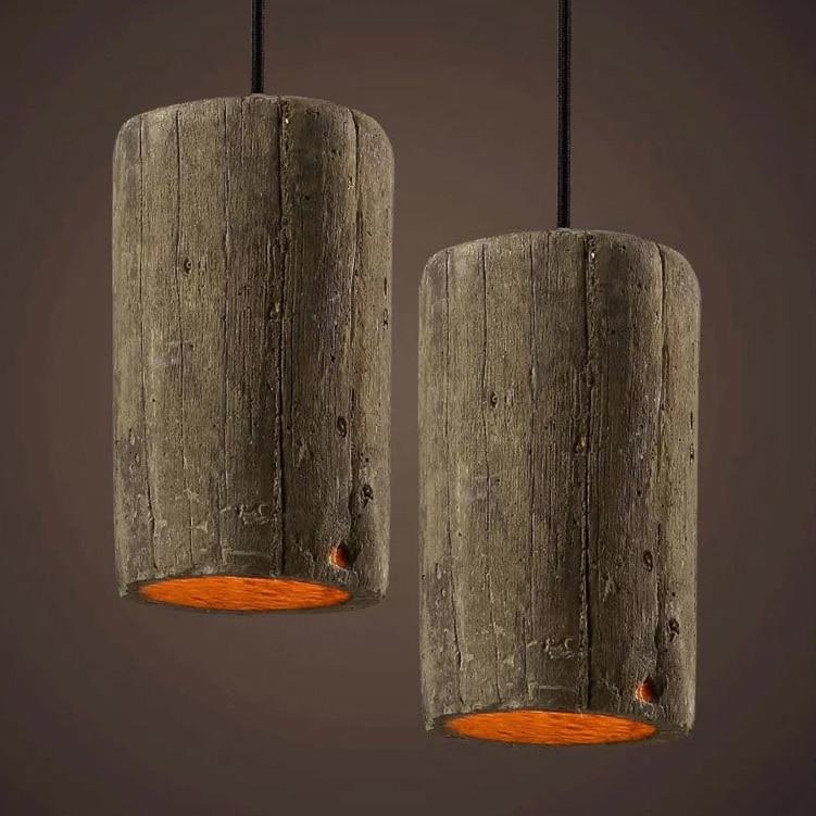 Nostalgia szüreti fa utánzattal ellátott cefrevilágító amerikai - Beltéri világítás