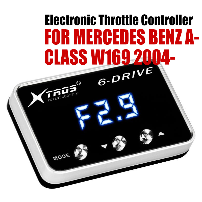 Car Electronic Throttle Controller Racing Accelerator Potent Booster For MERCEDES BENZ A-CLASS W169 2004-2019Car Electronic Throttle Controller Racing Accelerator Potent Booster For MERCEDES BENZ A-CLASS W169 2004-2019
