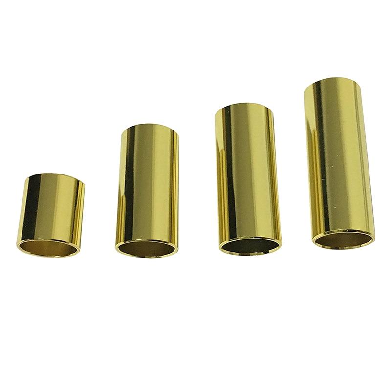 цены 5 PCS of (4 Pcs Golden Color Metal Guitar Slide bar)