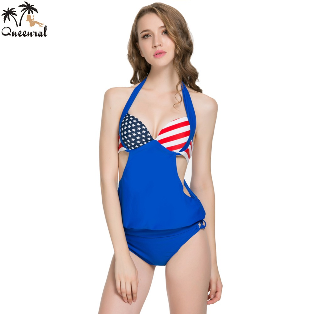 0964b89308 Queenral swimwear bra Tankini plus size Female Large Size bathing suit suit  plavky tankini bra women swimsuit-in Bras from Underwear & Sleepwears on ...