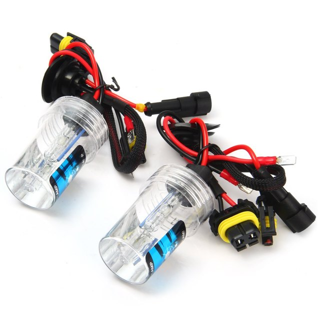Auto Front Lamp Pure White Light Headlight H3 35W Super Bright 8000K High Quality Car HID Xenon Lamp Car Headlamp for Vehicle