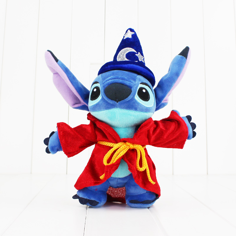 23CM cute Stitch Plush Doll Toy Hot Movie Lilo and Stitch kawaii stuffed doll toy soft toy great gift for children staircase chandelier double staircase lamp long chandelier luxury villa staircase crystal lamp modern minimalist living room led
