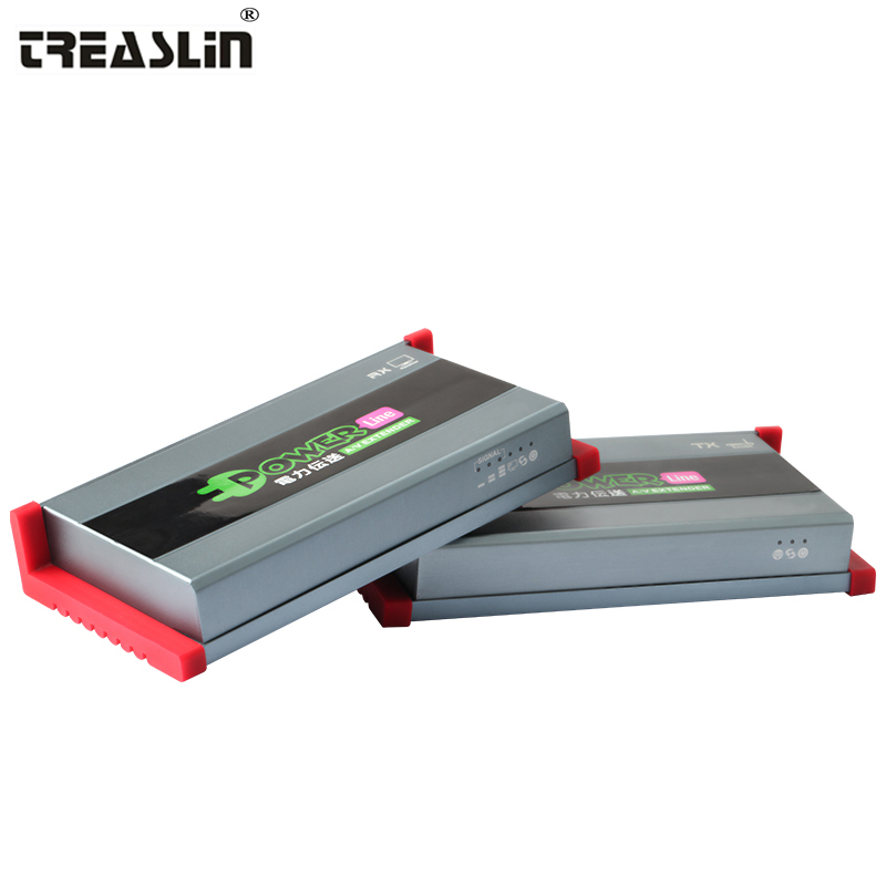 TreasLin HDMI Transmitter and font b Receiver b font 1080P HDMI Extender Over Home s Powerline