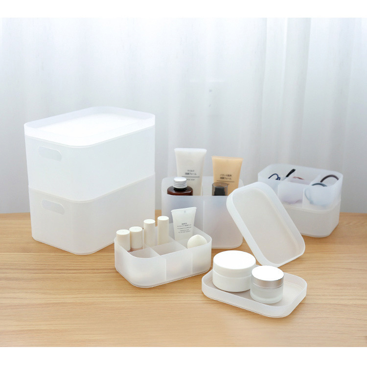 Plastic Cosmetic Storage Box to Organize Makeup with Drawers for Dressing Table of Women 21