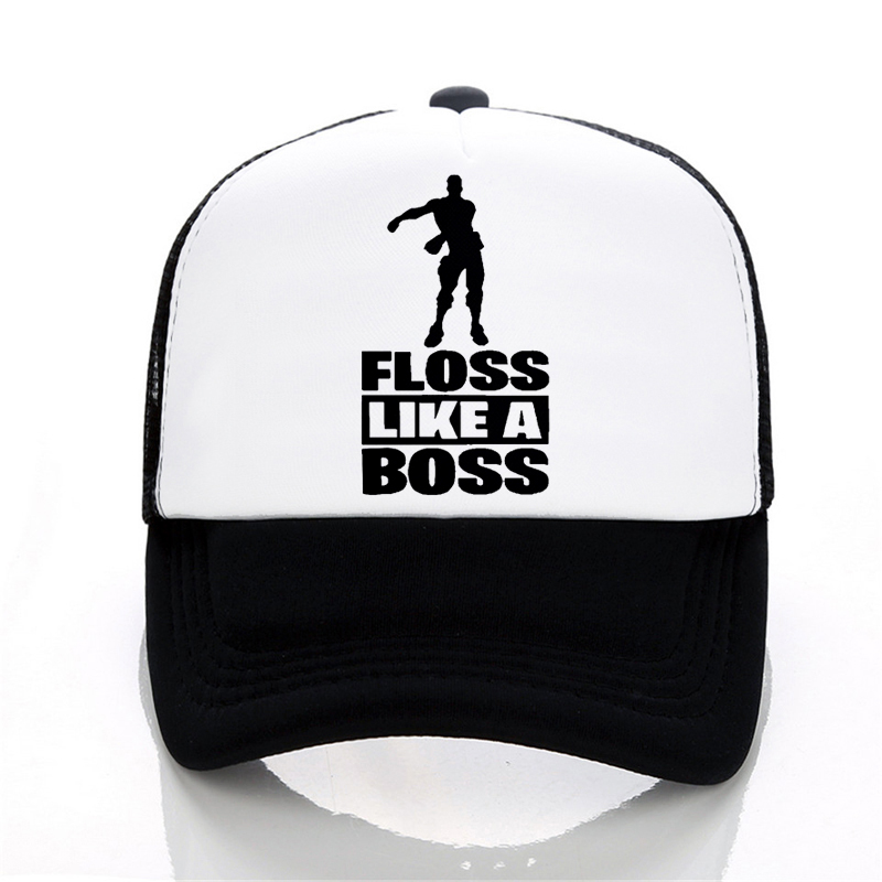 fortnited battle royale Gaming   Baseball     caps   Summer fashion Men Women cool Mesh snapback hats Floss Like A Boss   cap