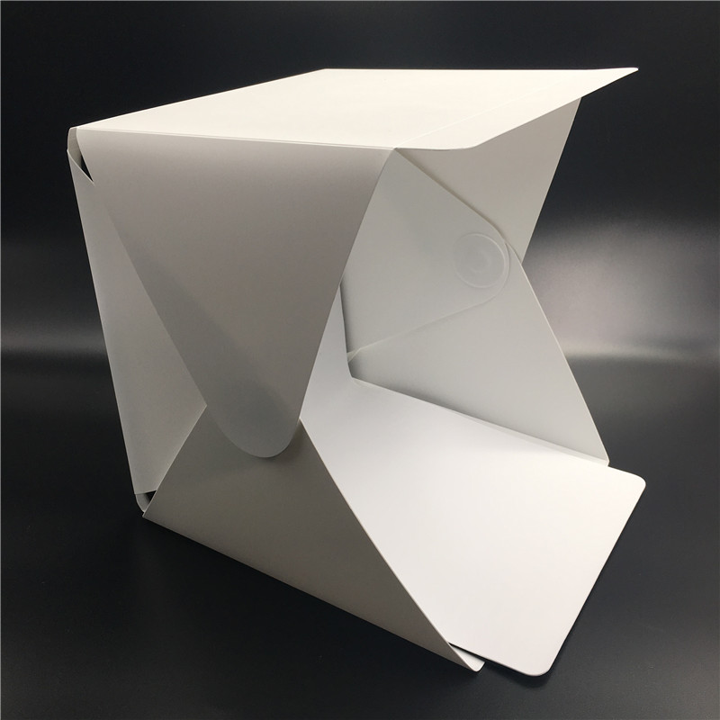 Foldable Mini Photo Studio Light Tent Kit Portable Room: Portable Folding Lightbox Photography Studio Softbox LED