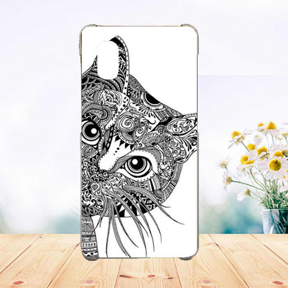 Untuk Dexp G250 Case Cover Silicon Berwarna Diy Tiger Owl Wolf Rose Lembut Tpu Ponsel Case untuk Dexp G250 Fundas capa