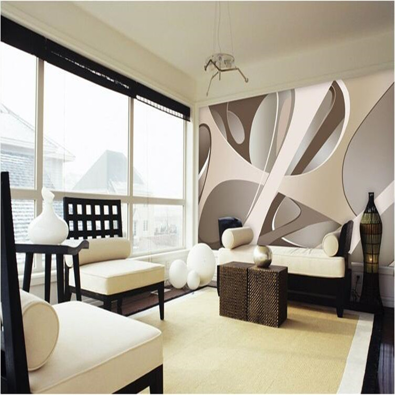Wallpaper mural art decor picture backdrop modern simple for Decoration cost per m2