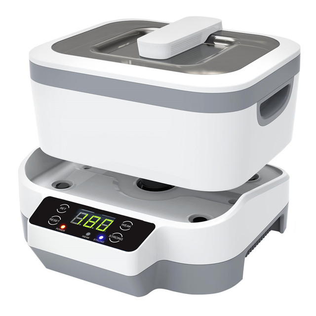 Skymen 1200ml Ultrasonic Cleaner Jewelry Denture Watches Eye Glasses Wasing Machine Tools Parts Detachable Bowl Ultrasound Bath