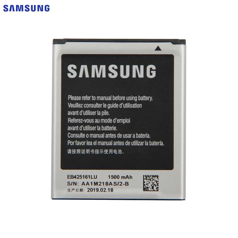 SAMSUNG Original Battery I8190 J1 Mini EB425161LU S7580 For Gt-s7562l/S7560/S7566/..