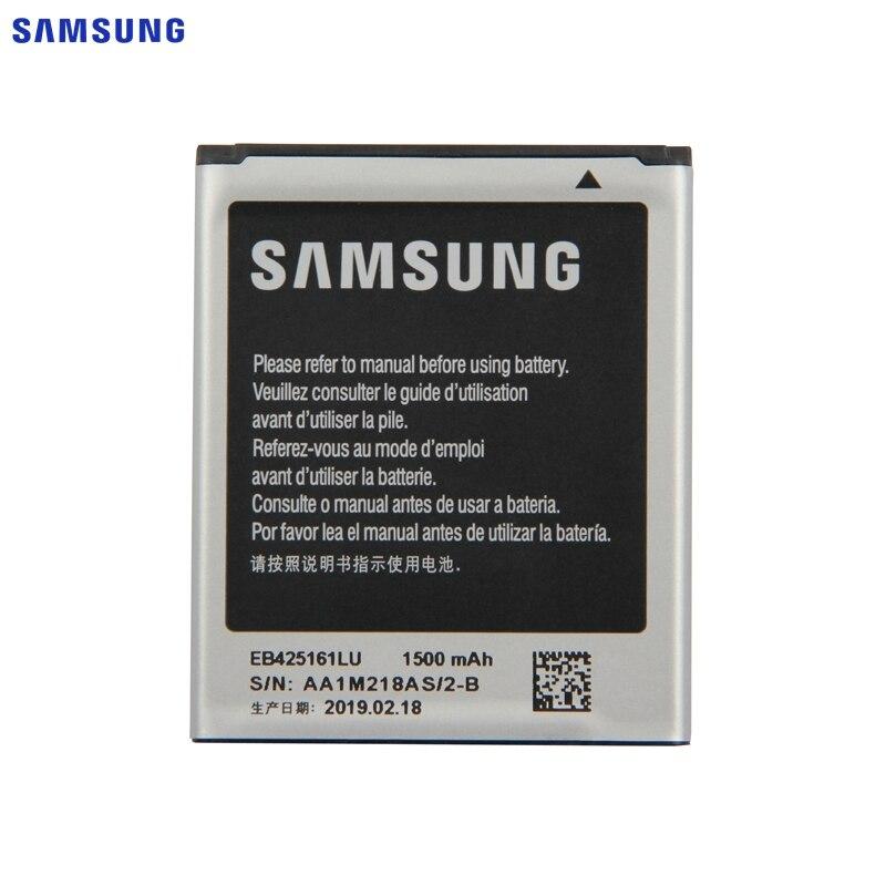 SAMSUNG Original Battery EB425161LU For Samsung GT-S7562L S7560 S7566 S7568 S7572 S7580 I8190 I739 I8160 S7582 SM-J105H J1 MINI
