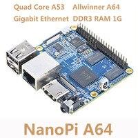 NanoPi Allwinner A64 Development Board Quad core Cortex A53 Onboard Gigabit Ethernet Card WiFi AXP803 Super Raspberry Pi NP006