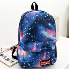 1pcs City Jogging Bags for Galaxy Pattern Unisex Travel Backpack Canvas Leisure Bags School bag Campus womens backpack bag