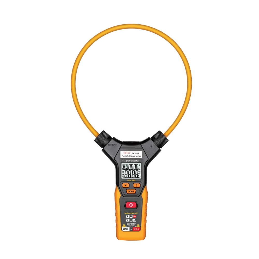 BSIDE ACM32 Smart AC Digital Flexible Clamp Meter Multimeter Handheld Voltage Current Resistance Frequency  мультиметр bside adm01