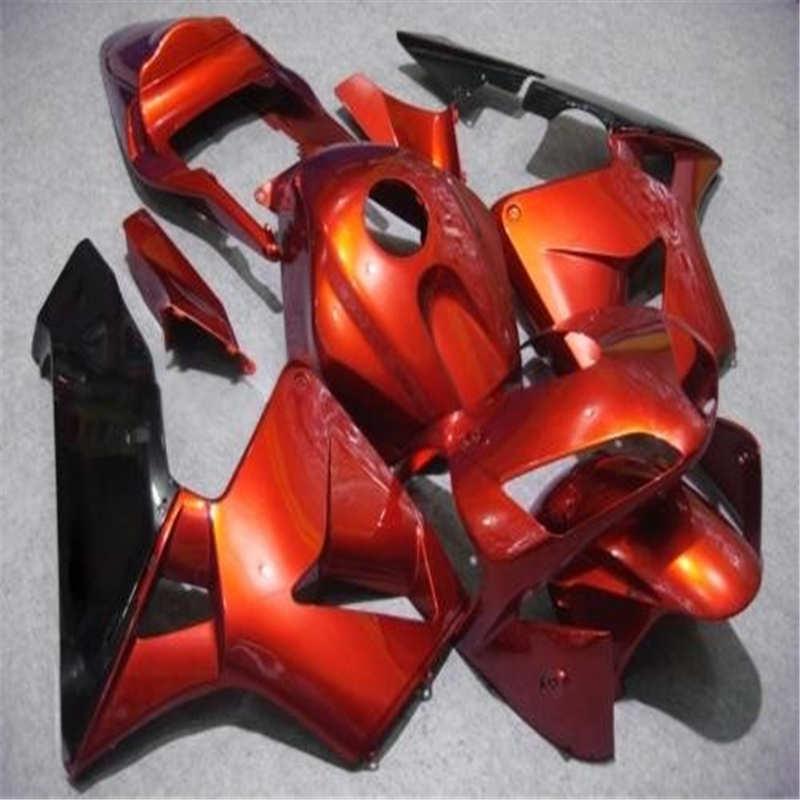 Качество orange черный формы для CBR600RR F5 03 04 синий черный CBR 600RR 2003 2004 cbr 600 ABS обтекатели комплект