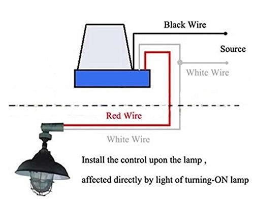 AC DC 12V 10A Auto On Off Photocell Light Switch Photoswitch Light