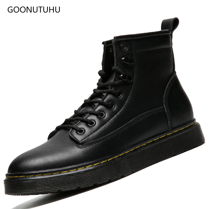 2018 autumn winter men's boots casual genuine leather shoes men black military boot work shoe man army ankle snow boots for men 2018 new genuine leather men boots winter man casual shoes with fur warm fashion ankle boot men s snow shoe work vintage male