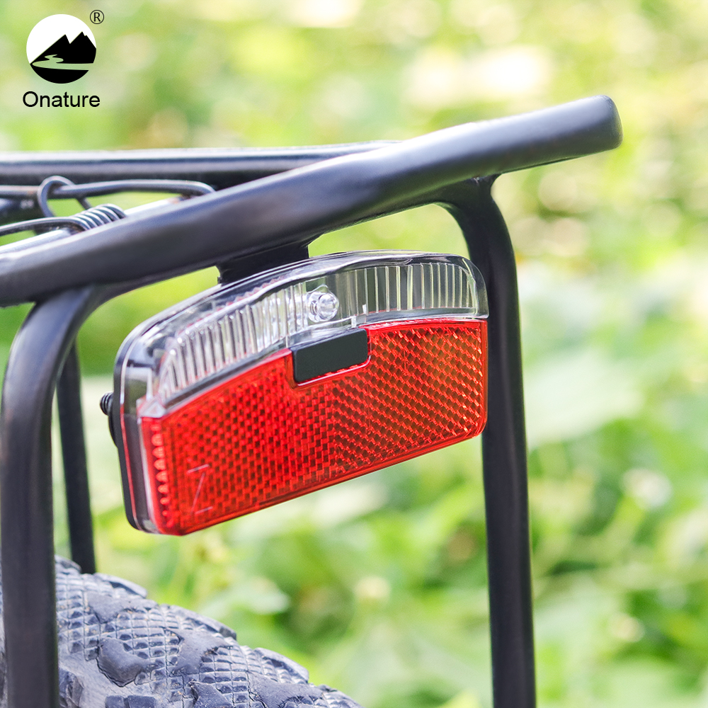 Bicycle Dynamo Bike Light With Parking Light Input AC 6V Stvzo Approved Bicycle Dynamo Rear Lamp K Mark LED Rear Light Bicycle