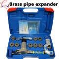 Messing Rohr Expander WK-519FT-L einteiliges Exzentrische Kupfer Rohr Abfackeln Tool Kit Kälte Werkzeuge