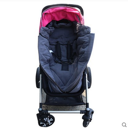 Carrinhos de bebê sapatinhos de bebê Saco de Dormir quente vento empurre para torno